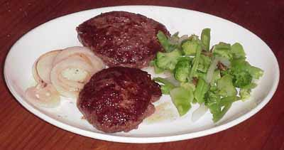 montefin's Bison Meat Buffalo Burgers